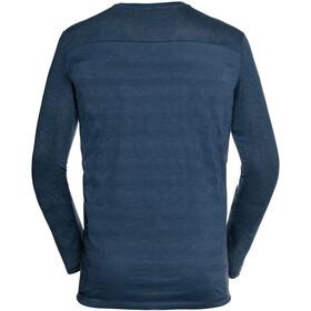 VAUDE Sveit LS T-Shirt Herr fjord blue